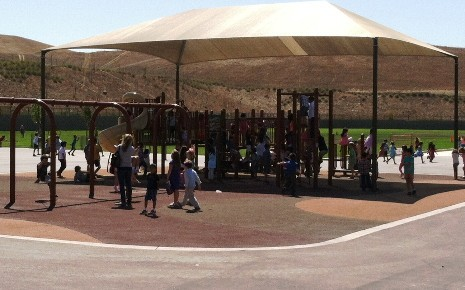Creekside ES Shade Structure - completed September 2013