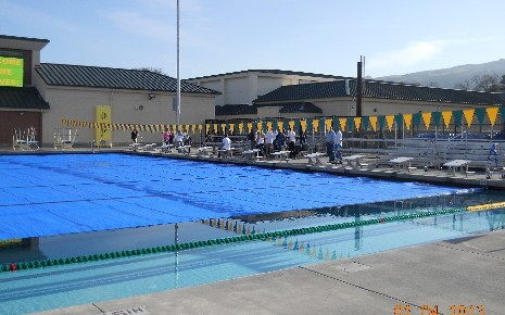 San Ramon Valley HS Pool - completed fall 2012