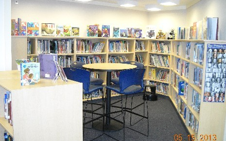 Twin Creeks ES - New Library opened in March 2013
