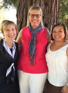 Jean Anthony, Carol Unterseher and Cindy Perez